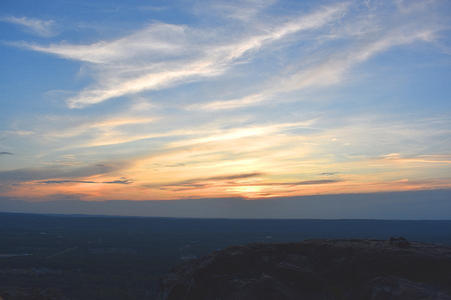 Sunset on Meriden Mountain 1 by Nina Kindred