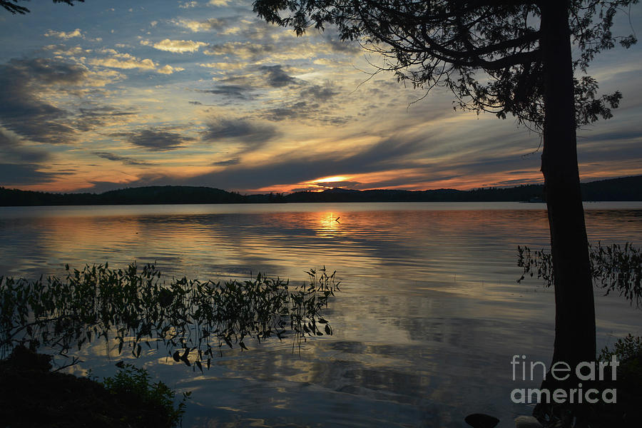 Oseetah Lake Photograph - Sunset On Oseetah by Lisa Kilby