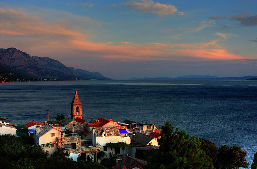Sunset On The Adriatic Photograph by Tozofoto