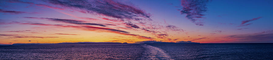 Sunset On The Barents Sea by Alan Dyer