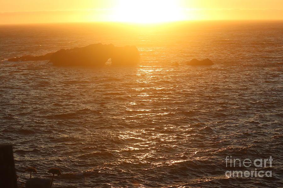 Sunset on the California Coast by Cynthia Mask