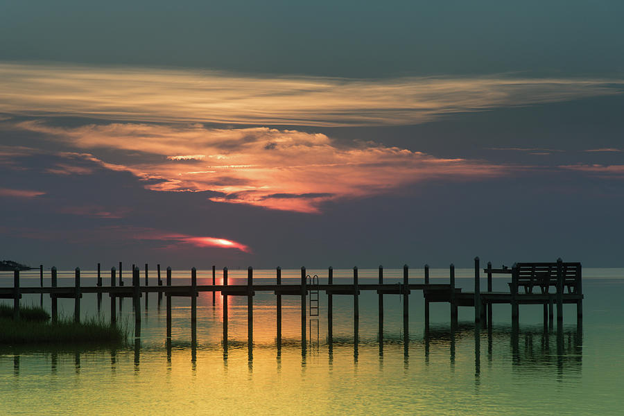 Sunset On The Outer Banks Photograph