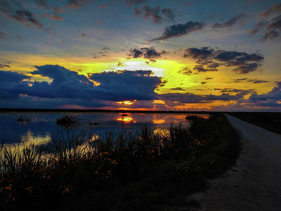 Sunset Over Lake Apopka by Kevin Banker