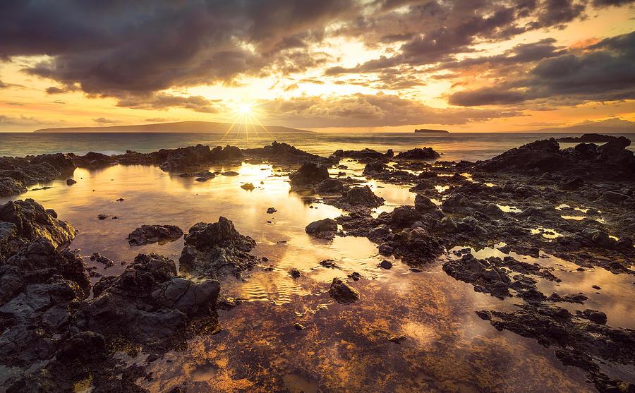 Matt Photograph - Sunset Over Makena Cove #1 by Matt Anderson
