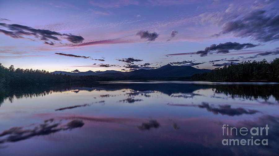 Sunset over Mt. Chocoura, NH by Craig Shaknis