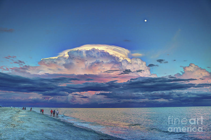 Sunset Over Sanibel Island by Jeff Breiman