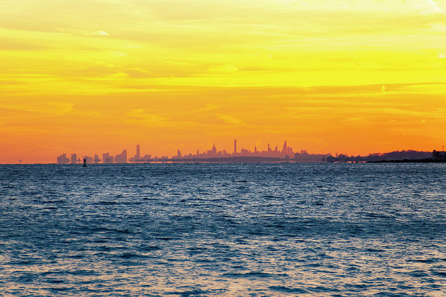 City Photograph - Sunset Over The City by Lorrie Joaus