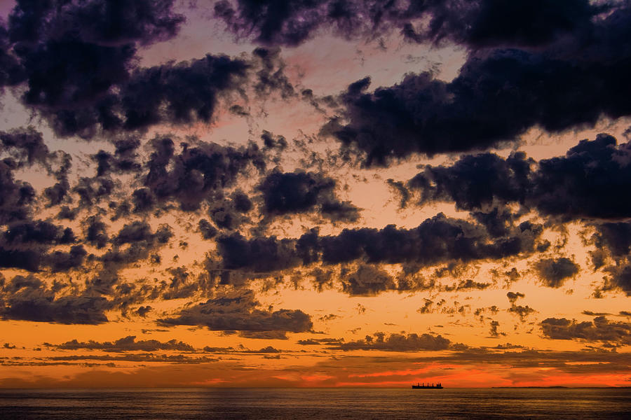 Sunset over the Indian Ocean by Jeremy Holton