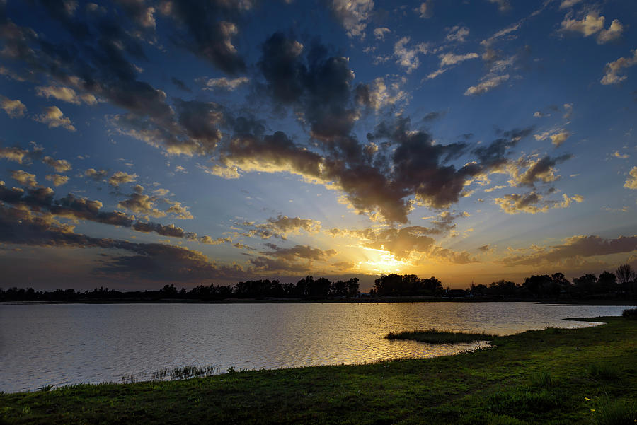 Sunset over the marsh of El Rocio by RicardMN Photography