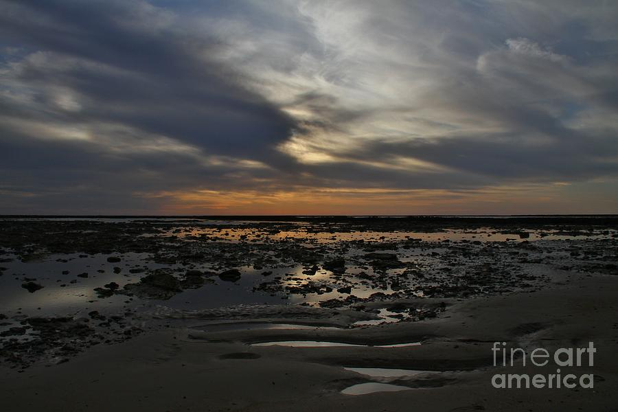 Nature Photograph - Sunset Over The Rota Corrales by Tony Lee
