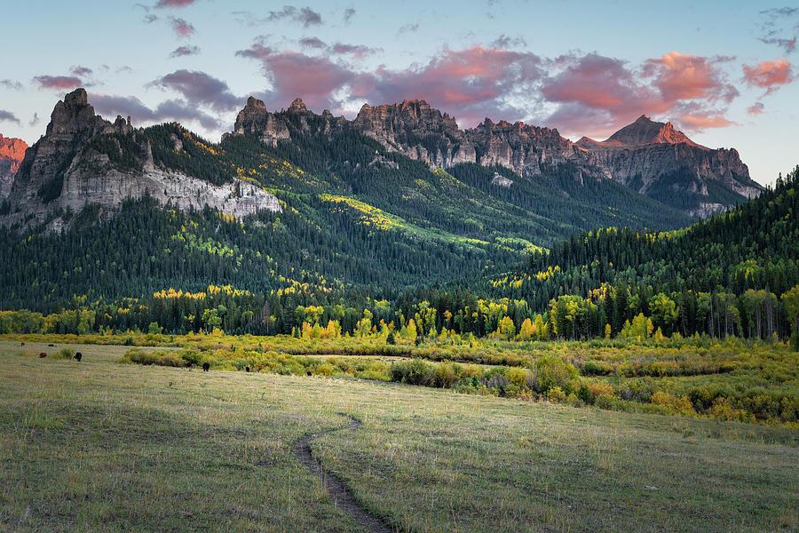 Sunset over Turret Ridge by Richard Raul Photography