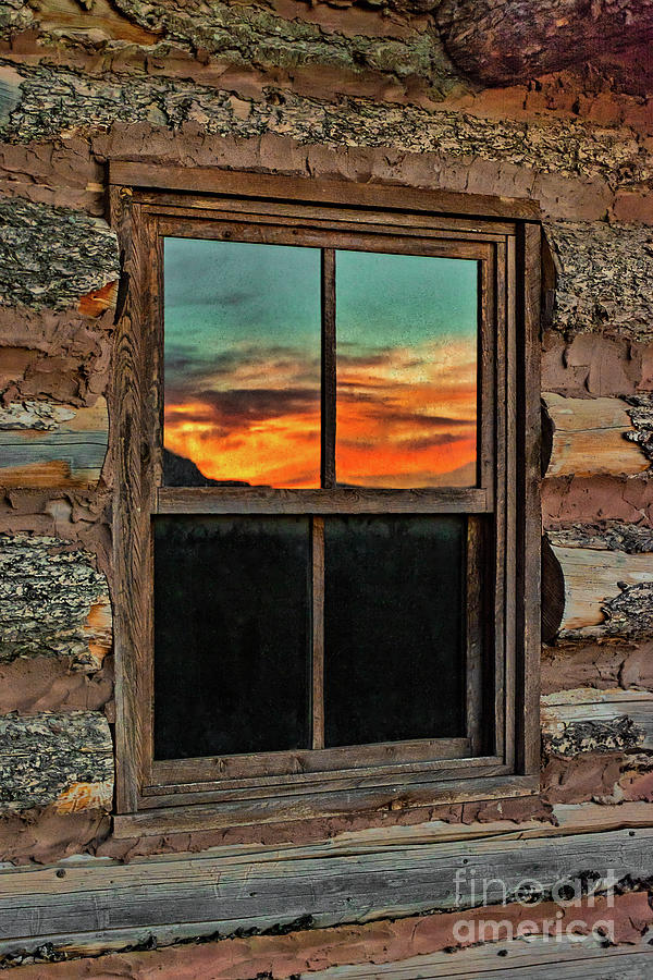 Sunset Reflection at Ghost Ranch by Susan Warren