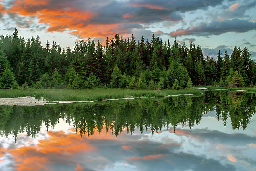 Sunset Reflections by Ronnie and Frances Howard
