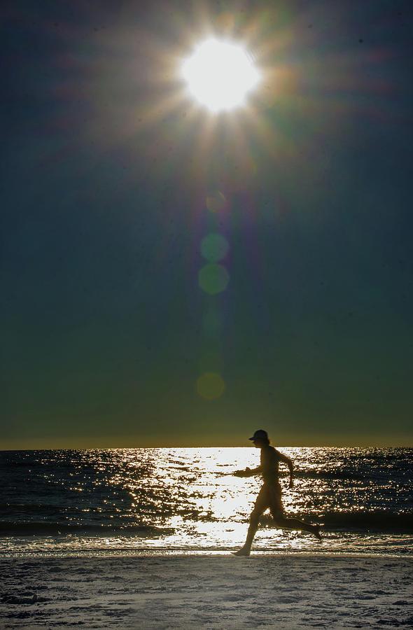 Sunset Run by Jolynn Reed