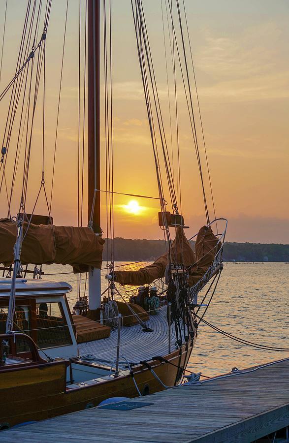 Sunset Sail by Susan Rydberg