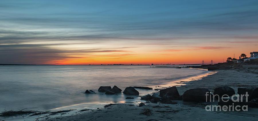 Sunset Seashore - Charleston South Carolina Photograph