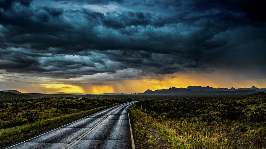 Sunset Showers by David Downs