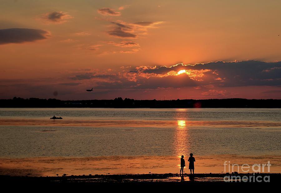 Sunset Silhouette by Joseph Perno