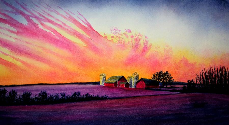 Sunset Skyworks by Thomas Kuchenbecker