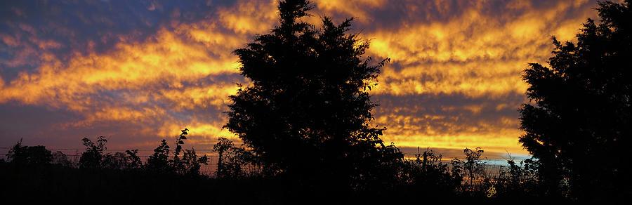 Sunset Southeast Missouri by Ginger Repke
