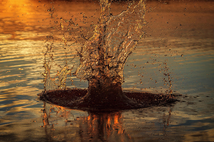Sunset Splash by Scott Bean