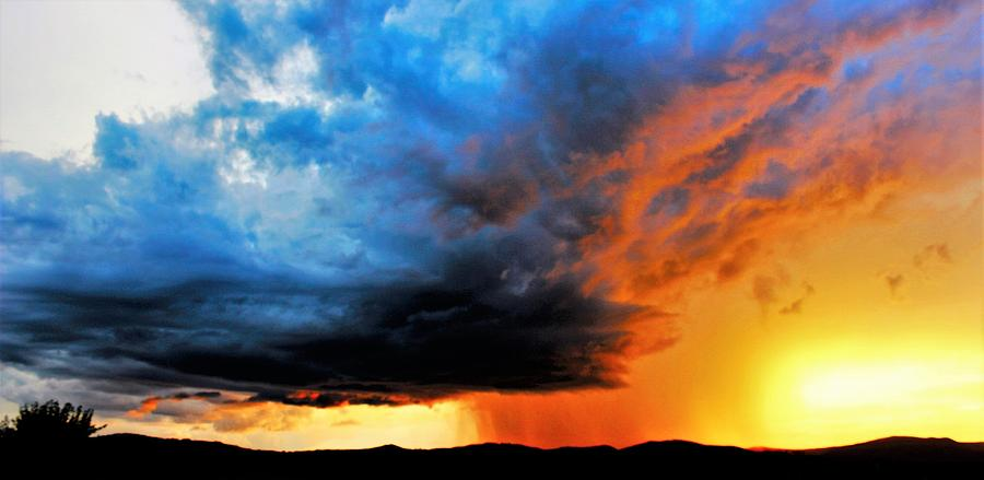 Sunset Photograph - Sunset Storm by Candice Trimble