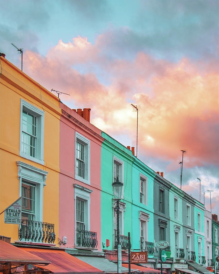 Sunset street by Gabor Estefan