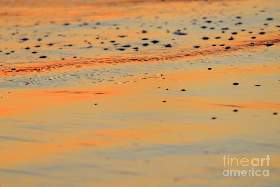 SUNSET TIDE CARLSBAD by John F Tsumas