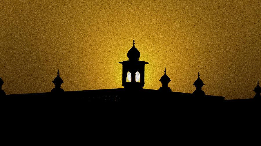 Sunset Mixed Media - Sunset To Rise Again by Manjot Singh Sachdeva