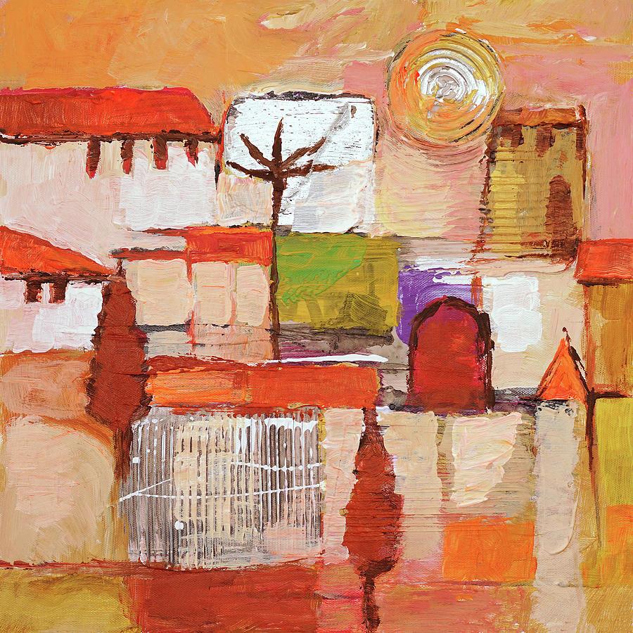 Sunset Town by Lutz Baar