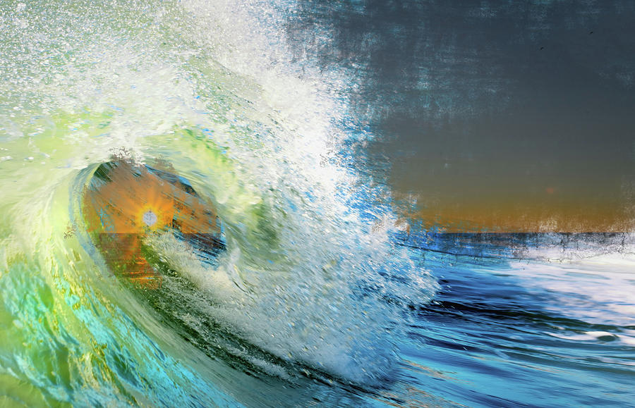 Sunset Wave by Jolynn Reed