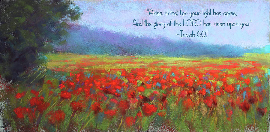 Sunshine and Poppies with Verse by Susan Jenkins