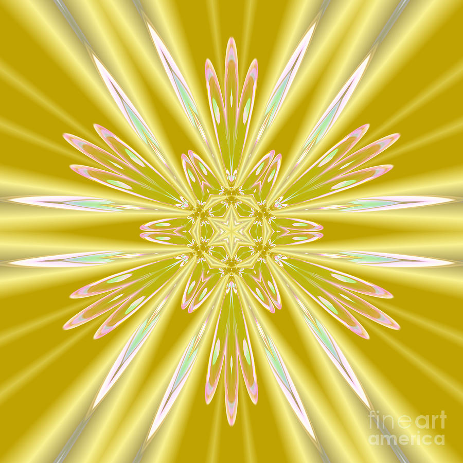 Sunshine Gold Star by Rachel Hannah
