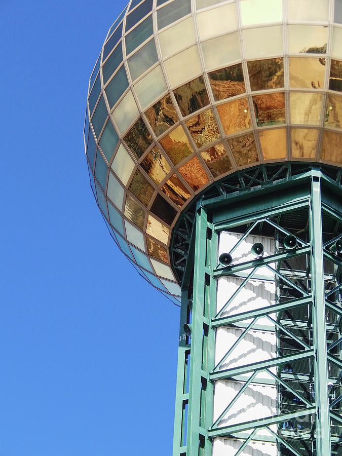 Sunsphere Photograph - Sunsphere In Knoxville, TN by Phil Perkins