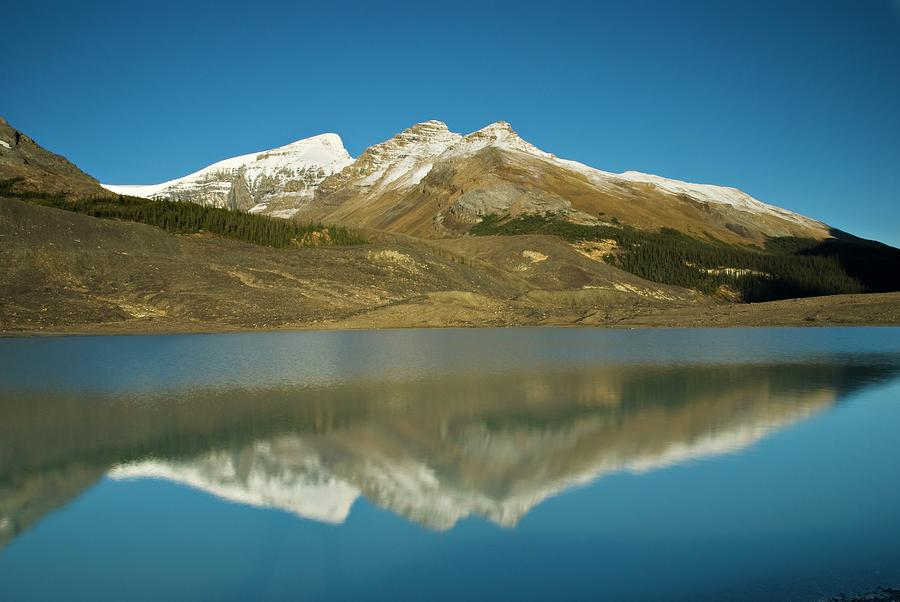 Sunwapta Lake, Jasper National Park Photograph by Design Pics/philippe Widling