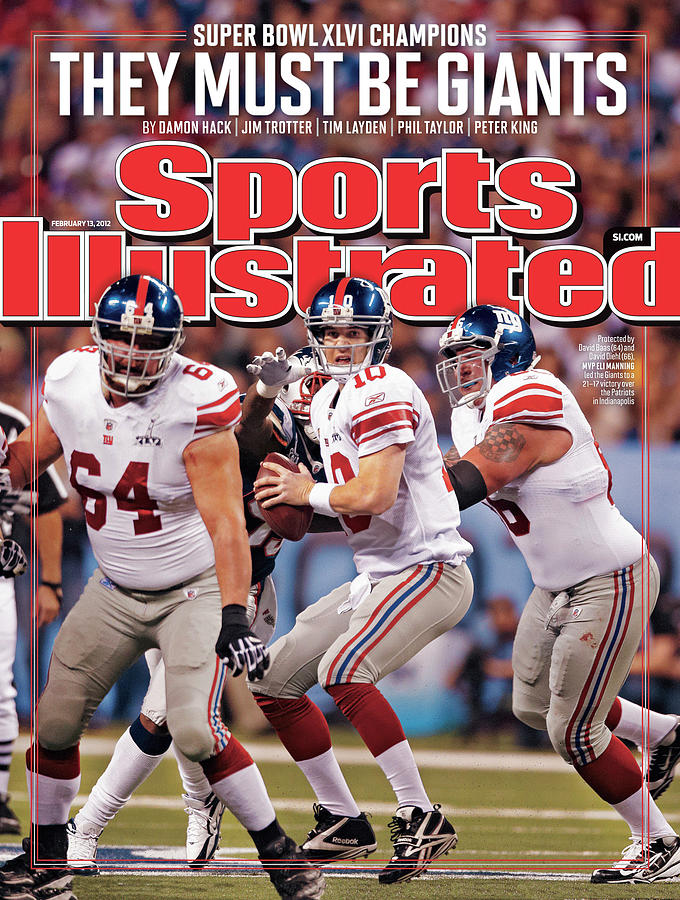 Super Bowl Xlvi... Sports Illustrated Cover Photograph by Sports Illustrated