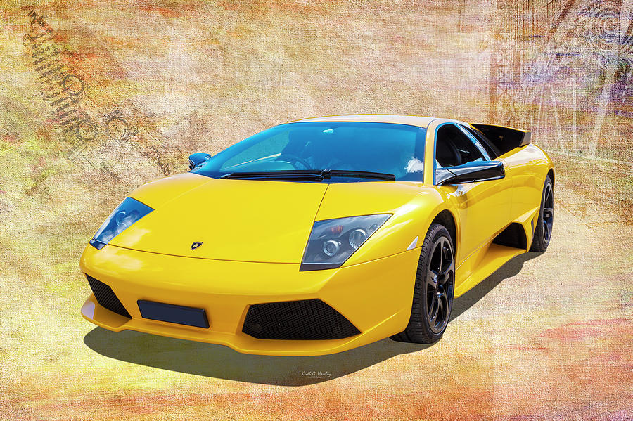 Super Car Yellow by Keith Hawley