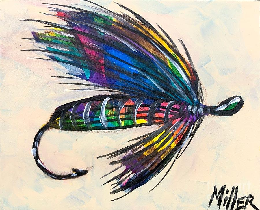 Bold Painting - Super Fly II by Tracy Miller