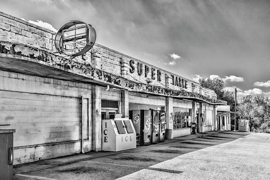 Super Market Black and White by Sharon Popek