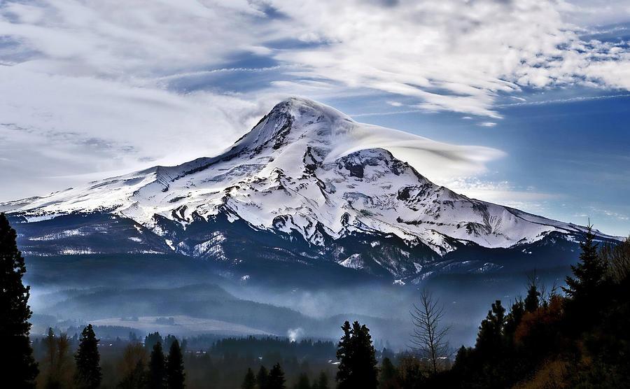 Super Mountain Photograph by Darrell Wyatt