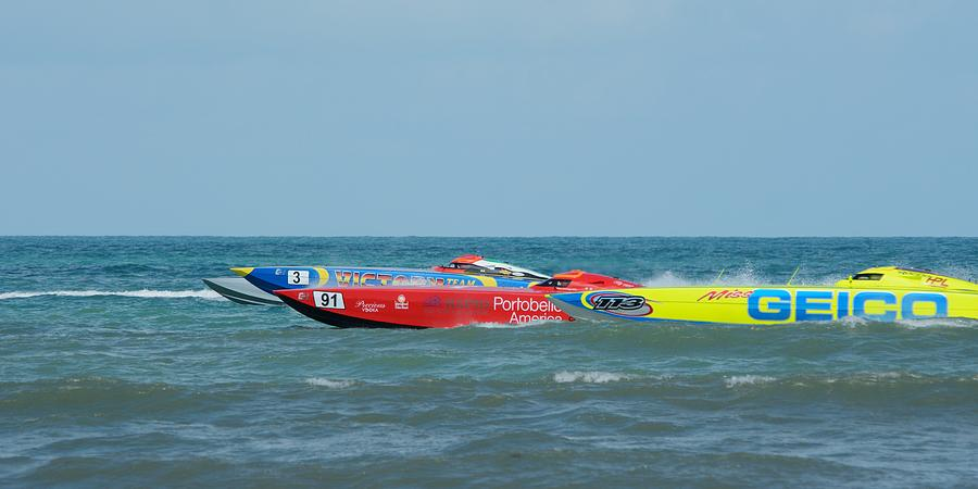 Superboat powerboat racing ClassONE  by Bradford Martin