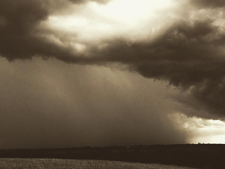 Supercell on the Horizon by Michael Oceanofwisdom Bidwell