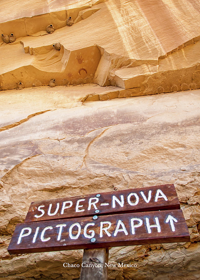 Supernova Pictograph by Britt Runyon