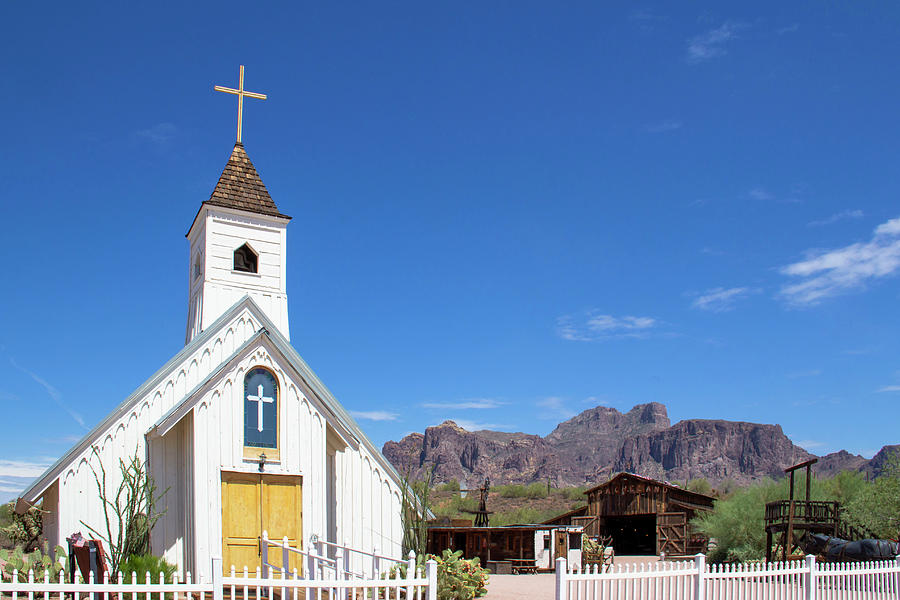 Superstition Mountain Church by Amy Sorvillo