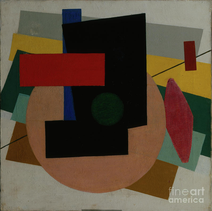 Suprematist Composition, 1916. Artist Drawing by Heritage Images