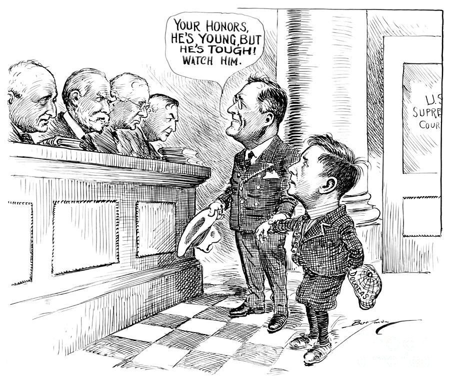 Supreme Court, 1938 by Clifford Berryman