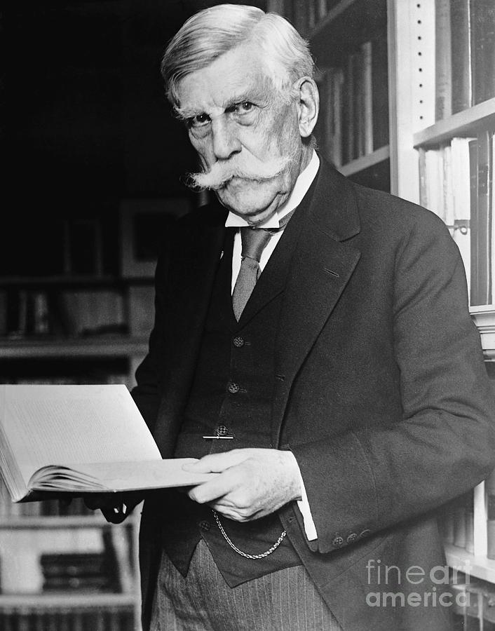 Supreme Court Justice Oliver Wendell Photograph by Bettmann