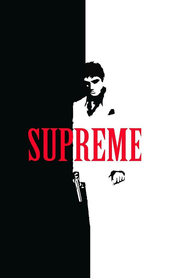 bdd3e46d3aad Supreme Scarface Digital Art by Melanin Gold