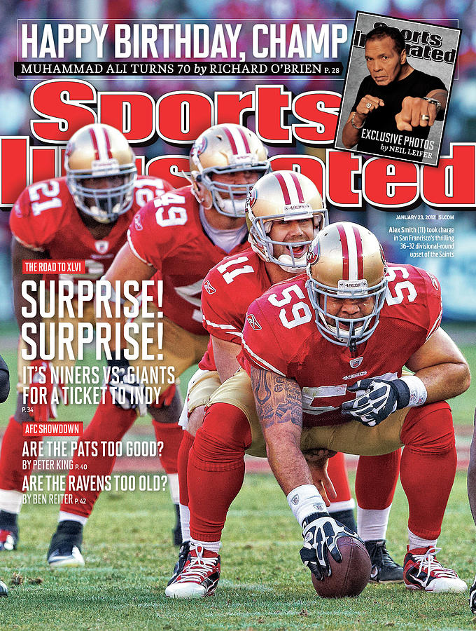 Suprise! Suprise! Its Niners Vs. Giants For A Ticket To Indy Photograph by Sports Illustrated Cover