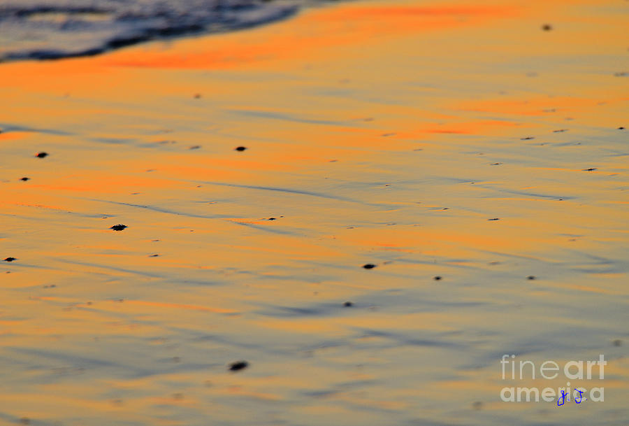 SURF AND SAND AFTERGLOW by John F Tsumas